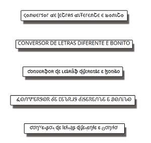 fontes de letras para copiar